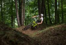 Bovec Slovenia sportna fotografija gorsko kolo